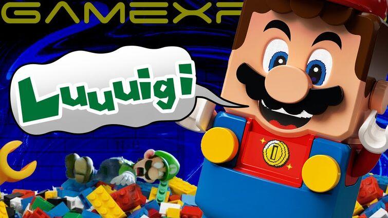 LEGO Mario Screams Out for Luigi?! Announcement Imminent?