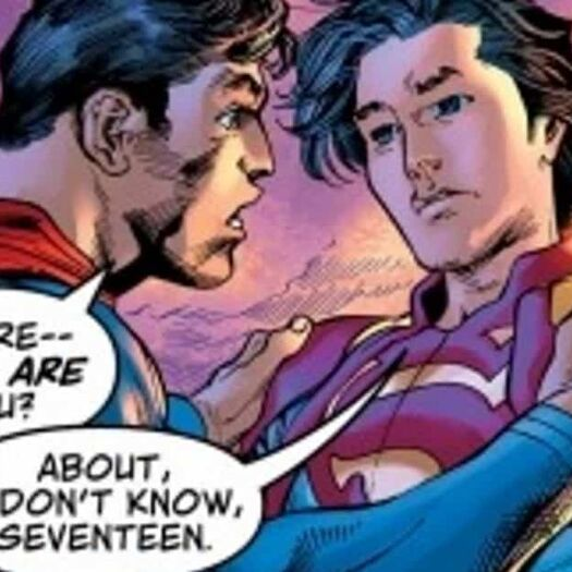 Jonathan Kent, Superboy, is Now 17 Years Old...