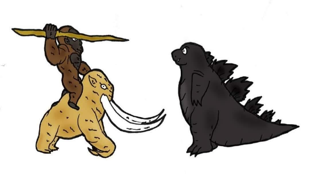 Godzilla el rey de los monstruos vs kong el domador de bestias