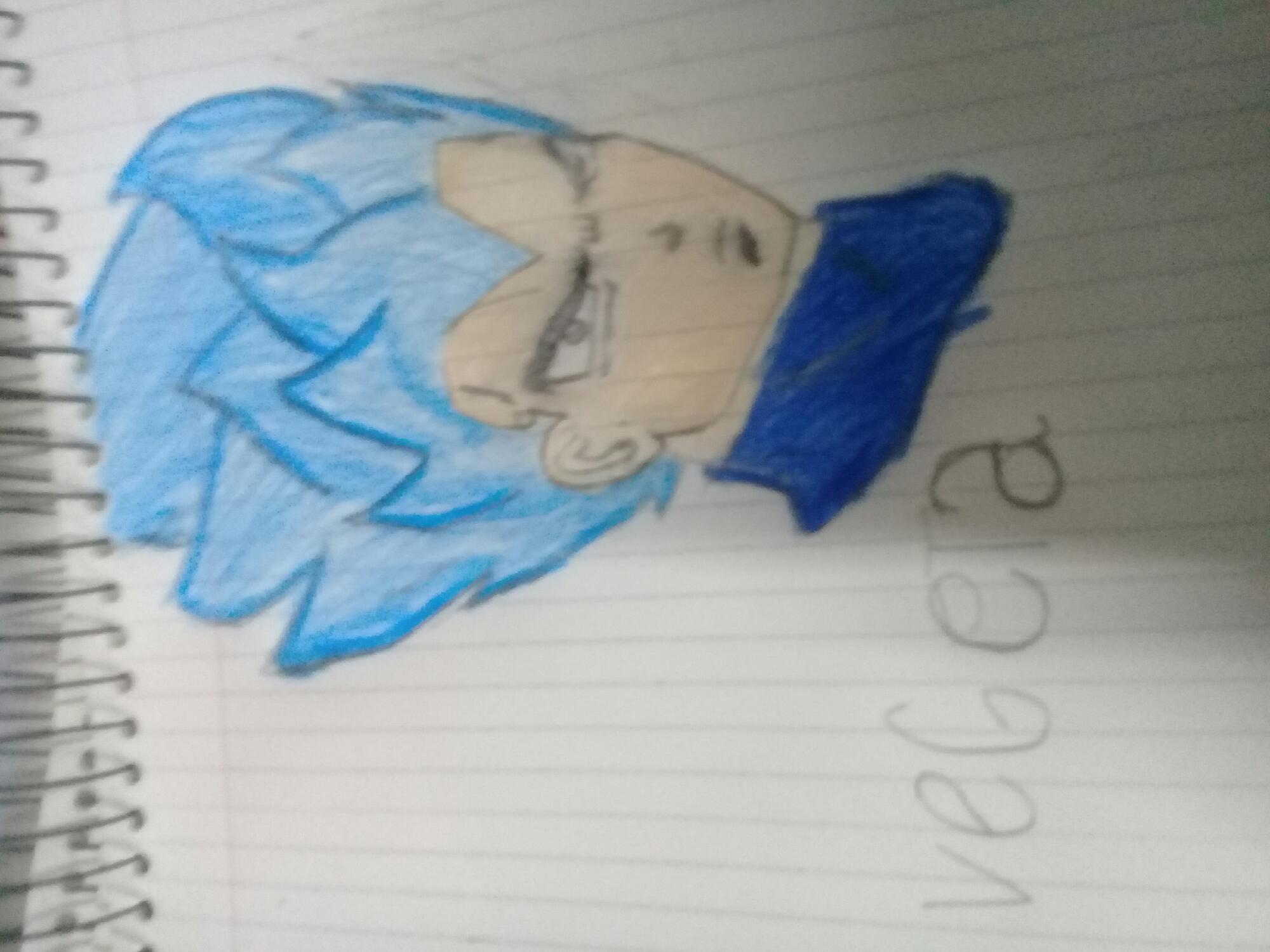 vegeta ssj blue