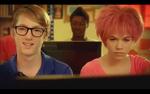 Jeremie and Aelita in cyber-sport class