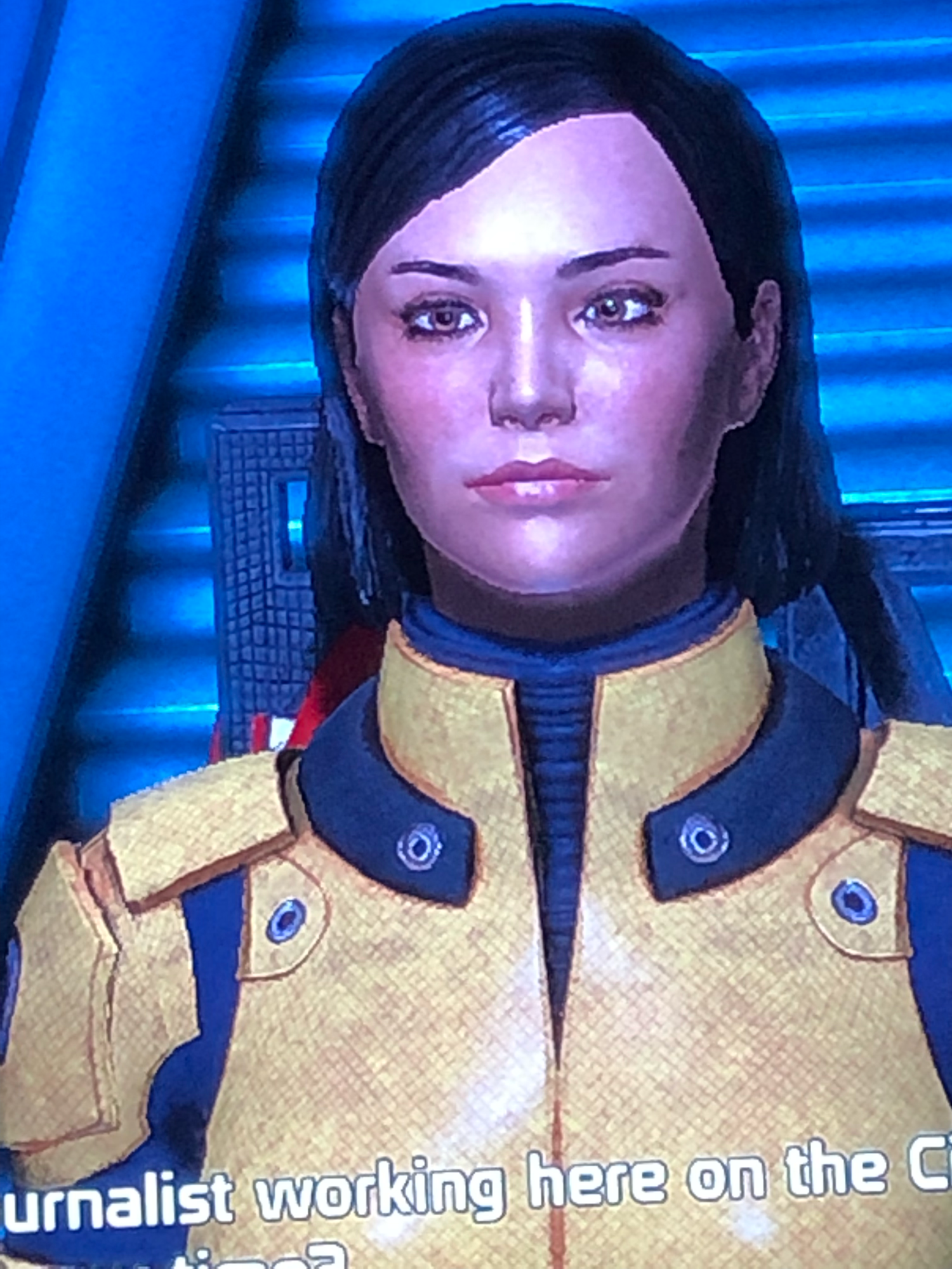 I love how my Shepard came out in Mass Effect 1.
