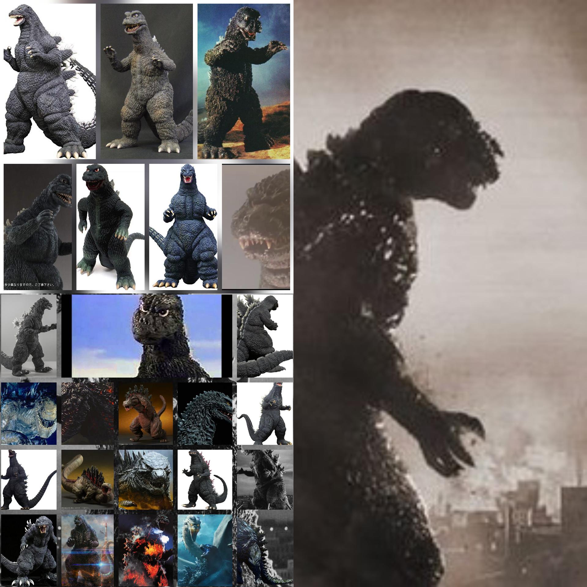 Todos los Godzillas