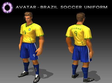 Costume Brazil Soccer Uniform M.jpg
