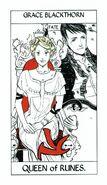 Tarot Runes Queen