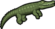 Crocodile render