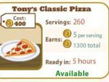 Tony's Classic Pizza