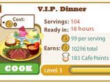 V.I.P. Dinner