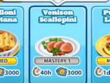 Venison Scallopini