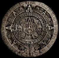 This is the aztec calendar, not mayan