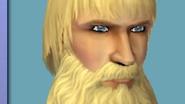 Vidcund with a beard