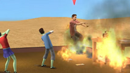 CallmeKevin burning