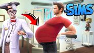 I got a man pregnant in the sims and it completely broke him