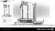Mars Buildings 1 by Benjamin Last IW