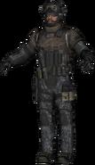 SEAL Team Six LMG model BOII
