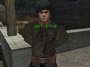 SGT. DYKE