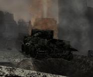 Tiger tank destroyed CoD WaW FF