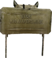 Claymore render MW2
