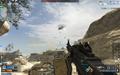 Attack Helicopter over Desert Border CoDO