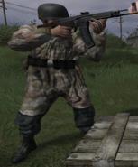 German Soldier Fallschirmjäger