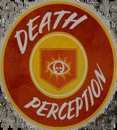 Чувство смерти наклейка