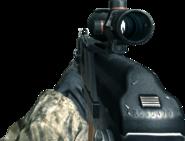 AK-74u ACOG Scope CoD4