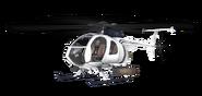 MH-6 Little Bird White model MW3