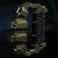 Brass Knuckles Gunsmith Model Chameleon Camouflage BO3