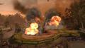 Прямое попадание по артиллерии клюквенных русских 1