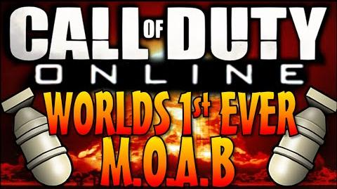 Call of Duty ONLINE Worlds First M.O.A