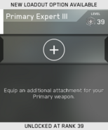 Primary Expert III Unlock Card IW