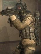 Spetsnaz gas mask