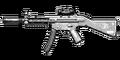 MP5 Silenced Thermal Sight HUD MW3