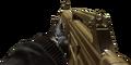 USAS 12 Gold Camouflage MW3