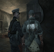 Amsel talking to soldier WaW