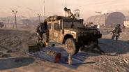 M1026 HMMWV repaired MW2