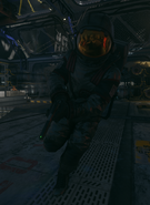 PES Suit Worn Moon BO3