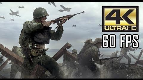 """ᴴᴰ Call of Duty WWII PC - """"Hill 493"""" 【4K 60FPS】 【MAX SETTINGS】"""