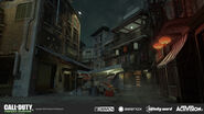 Chinatown Backalley Concept Art MWR