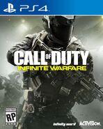 Infinite Wafare PS4 Box Art
