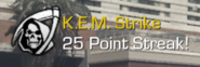 K.E.M. Strike earned CoDG
