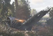 P47Thunderbolt destroyed WWII