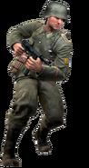 German soldier model CoD3