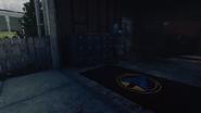 Tarcza policyjna Alpha Omega uchwyt 2