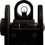 MW2 M4A1 Iron Sights