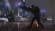 Players Fighting AW