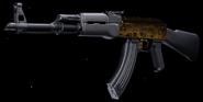 AK-47 Gold Gunsmith BOCW