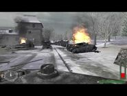 Call of Duty (2003) - Tank Drive Town (Russian Missions) -4K 60FPS-