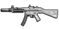 MP5 Silenced Red dot Sight HUD MW3