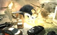 Osprey crashing Iron Lady MW3